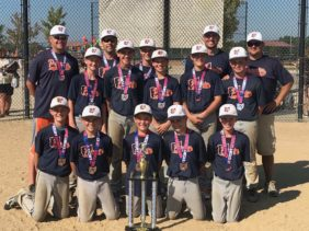 Brown 12U Runner Up at Victory Park…….