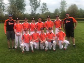 Pastors / Bores 12U 2019 Lake Erie Shores Tournament Champions