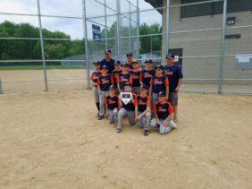 Coach Klein 10U team wins Main Event Tournament